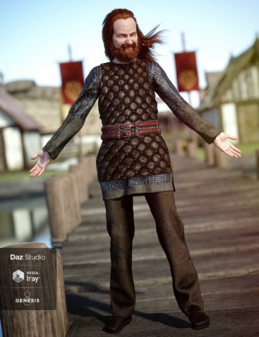 Lief Viking Outfit for Genesis 8 Male(s)