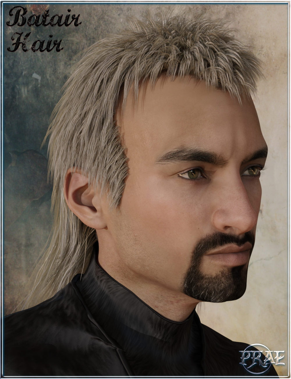 Prae-Batair Hair For Daz