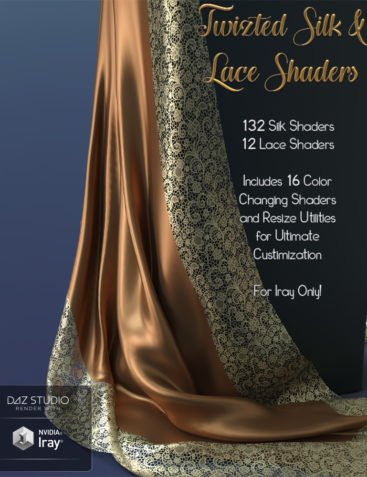 Twizted Silk & Lace Shaders