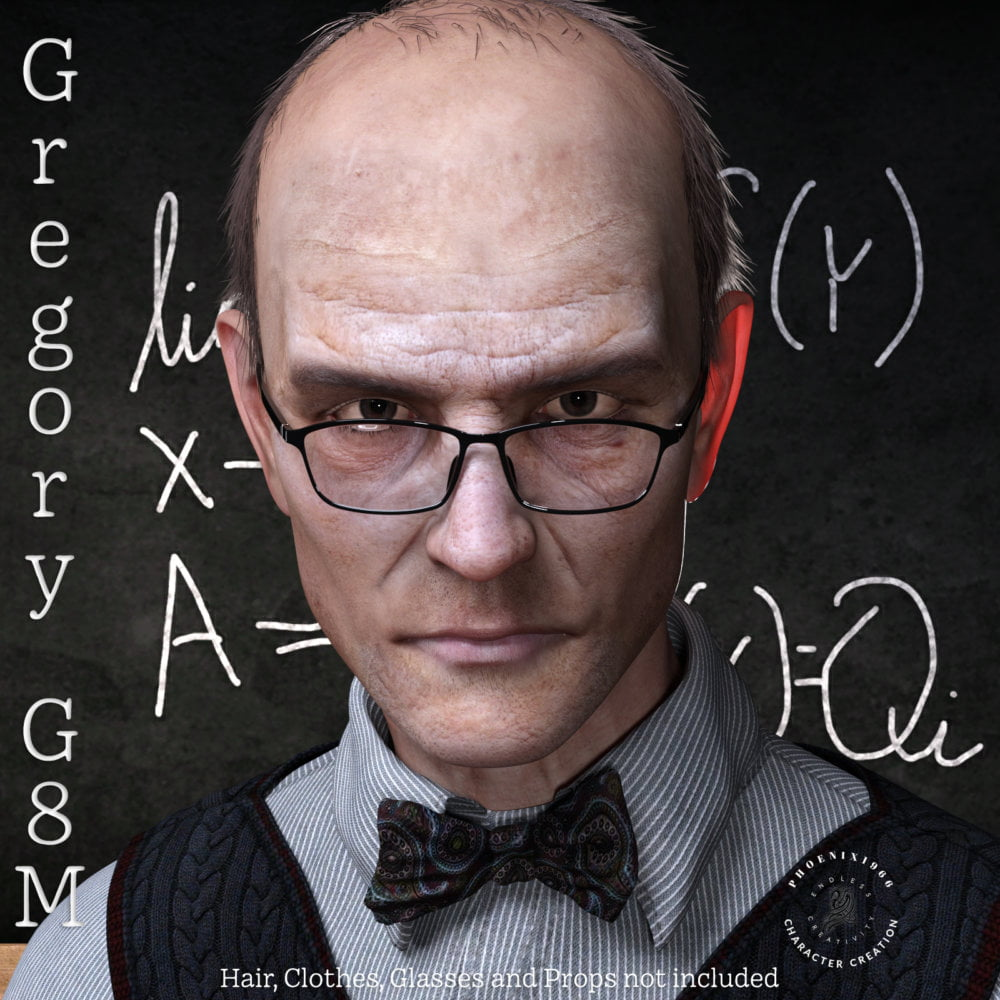 Phx Gregory for Genesis 8 Male