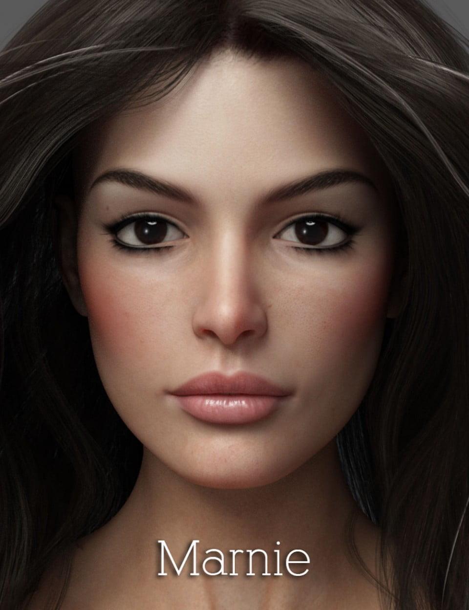 Marnie HD for Genesis 8 Female - character, daz-poser-carrara