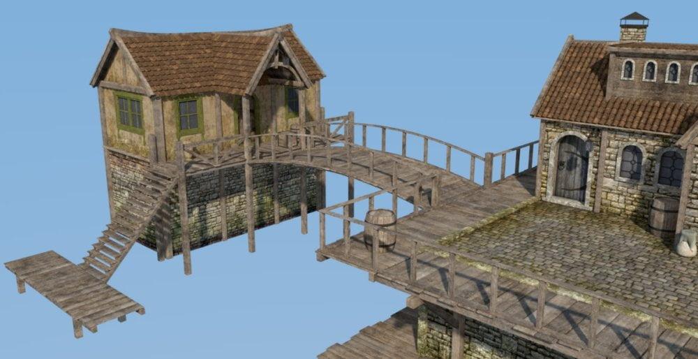 River house - scenes-props, daz-poser-carrara