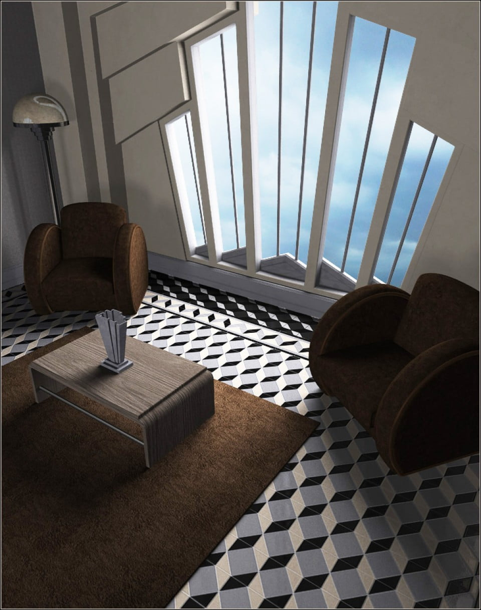 Maison Cubiste for Modern Living and Classic Deco