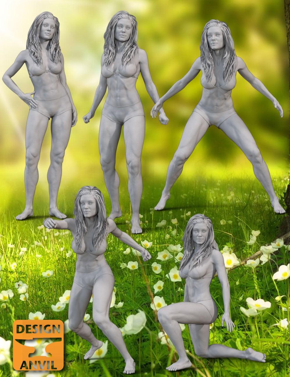 DA Ophelia 7 Classic Poses - poses, daz-poser-carrara