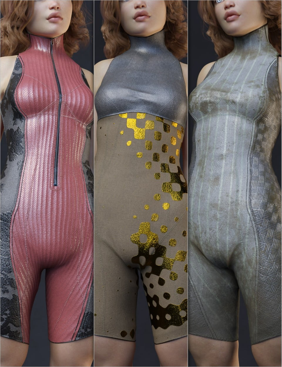Helix Alpha Outfit for Genesis 8 Female(s)