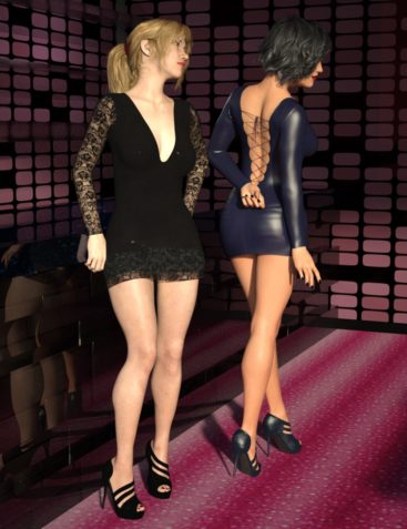 Vegas Nights Outfit for Genesis 8 Female(s)