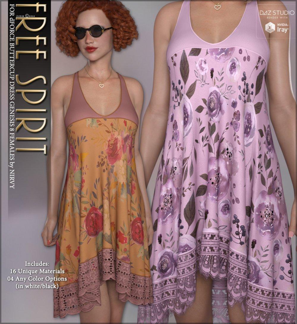 Free Spirit for dForce Buttercup Dress