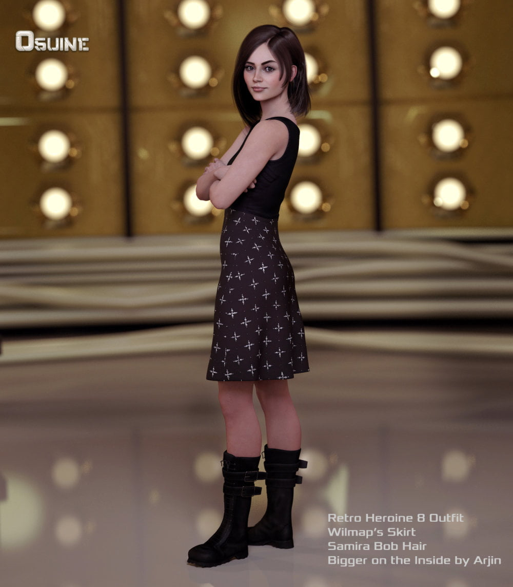 Osuine for Genesis 8 Female - character, daz-poser-carrara