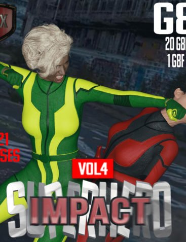 SuperHero Impact for G8F Volume 4