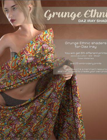 Daz Iray - Ethnic Silks