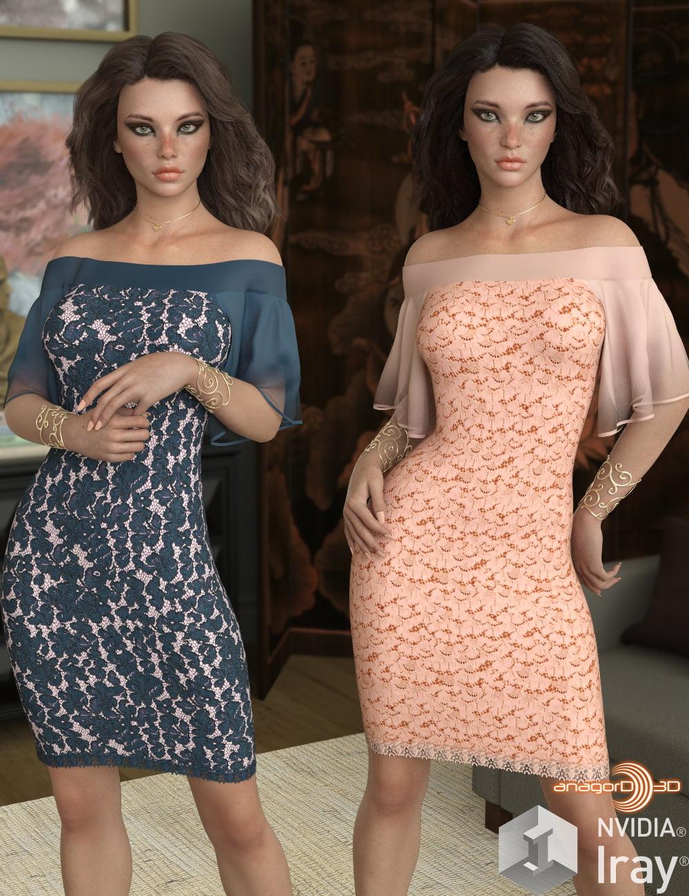 VERSUS - dForce Shimmy Dress for G8F