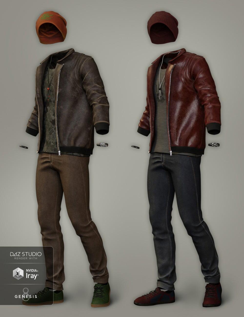 Alt Style Outfit Textures - clothing, daz-poser-carrara
