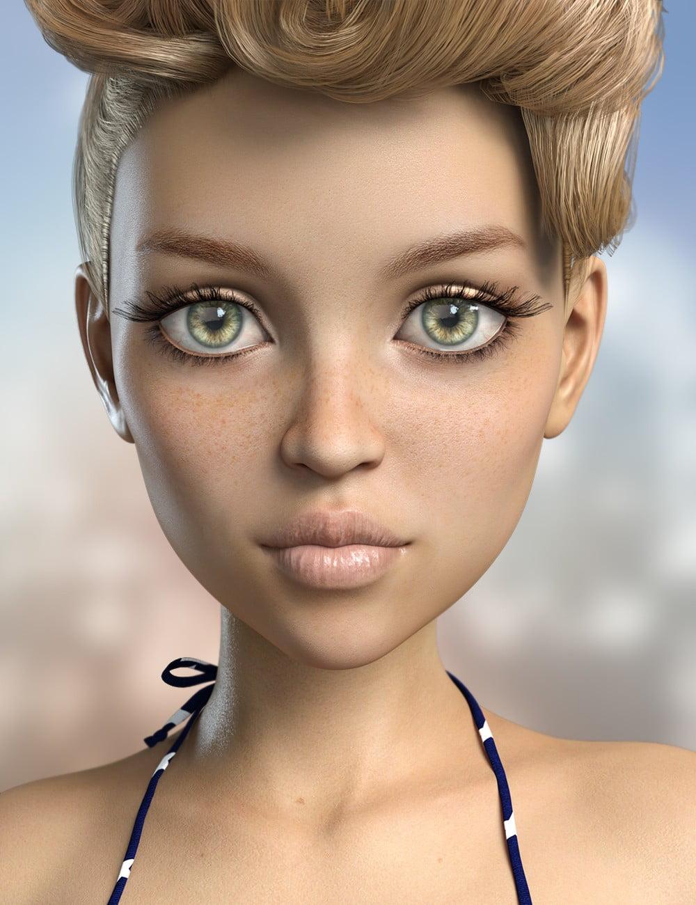 FWSA Lyla for The Girl 8 - character, daz-poser-carrara