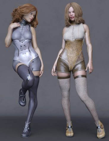 Lyra Outfit for Genesis 8 Female