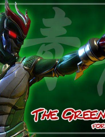 Green Dragon for Genesis 8 Male