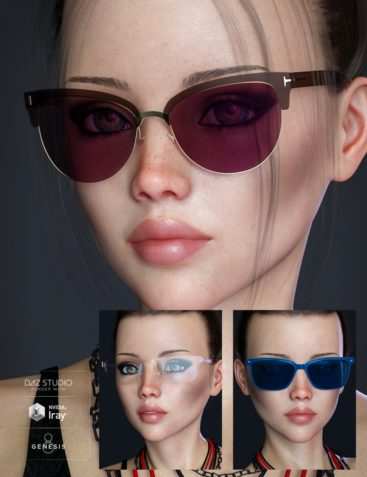 Alt Style Glasses for Genesis 8 Male(s) and Female(s)