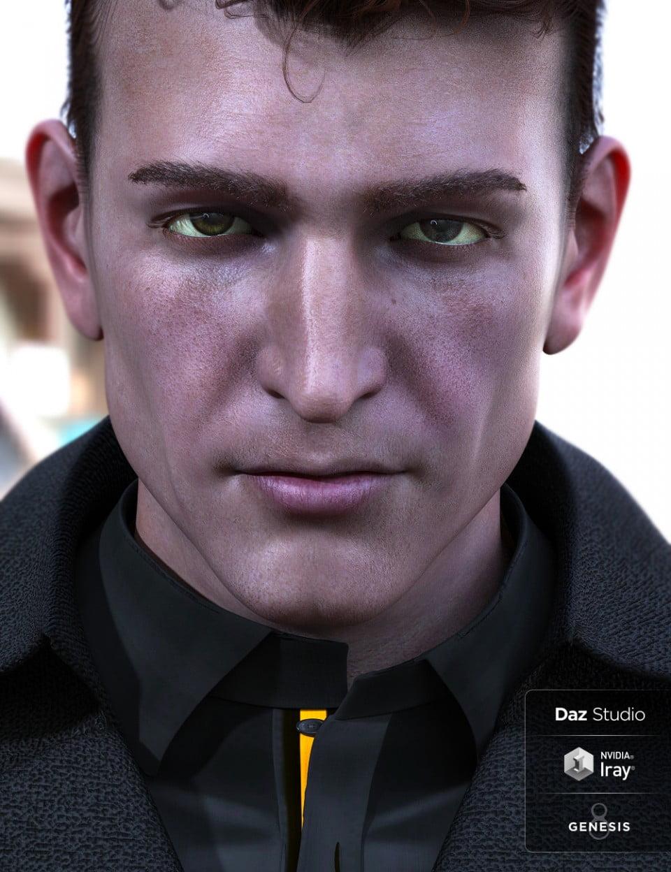 Liam for Edward 8 in Vendor, Darwins Mishap(s), 3D Models by Daz 3D