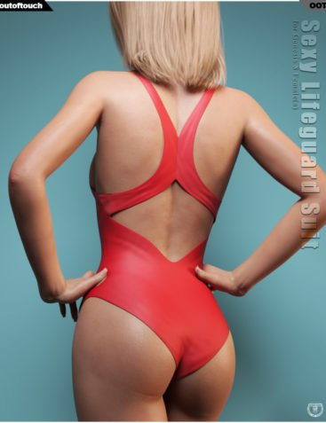 Sexy Lifeguard Suit for Genesis 8 Females