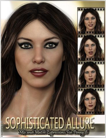 Sophisticated Allure Mix and Match Expressions for Penny 8 and Genesis 8 Female(s)
