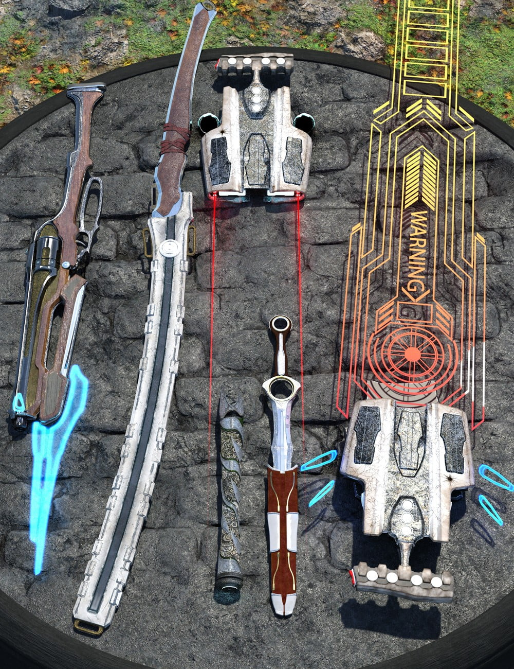 Adventurer's Toy Box - Weapons Edition: Genesis 8 Female and Male