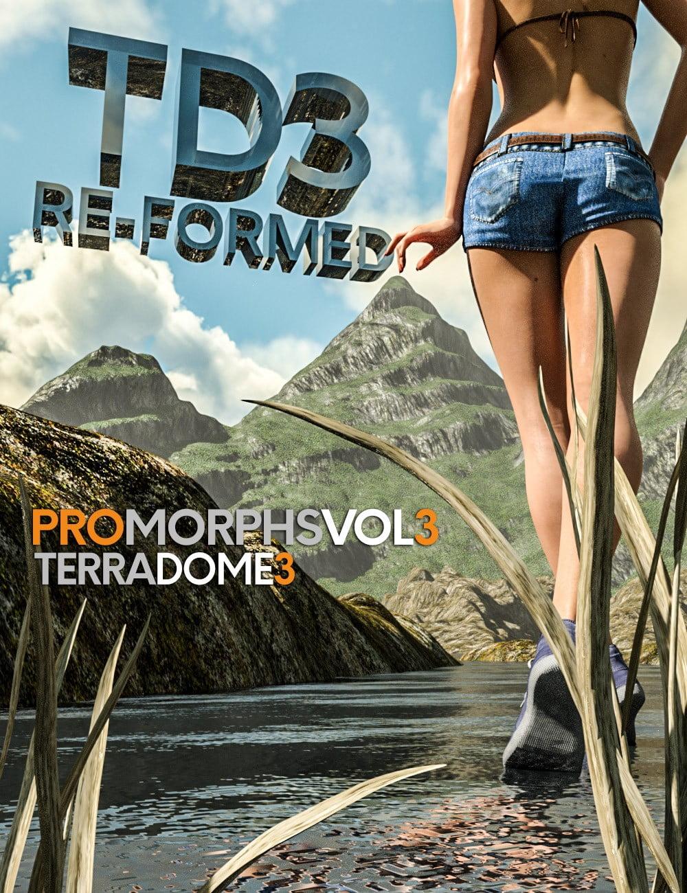 TerraDome 3 RE-FORMED - Pro Morphs Vol 3