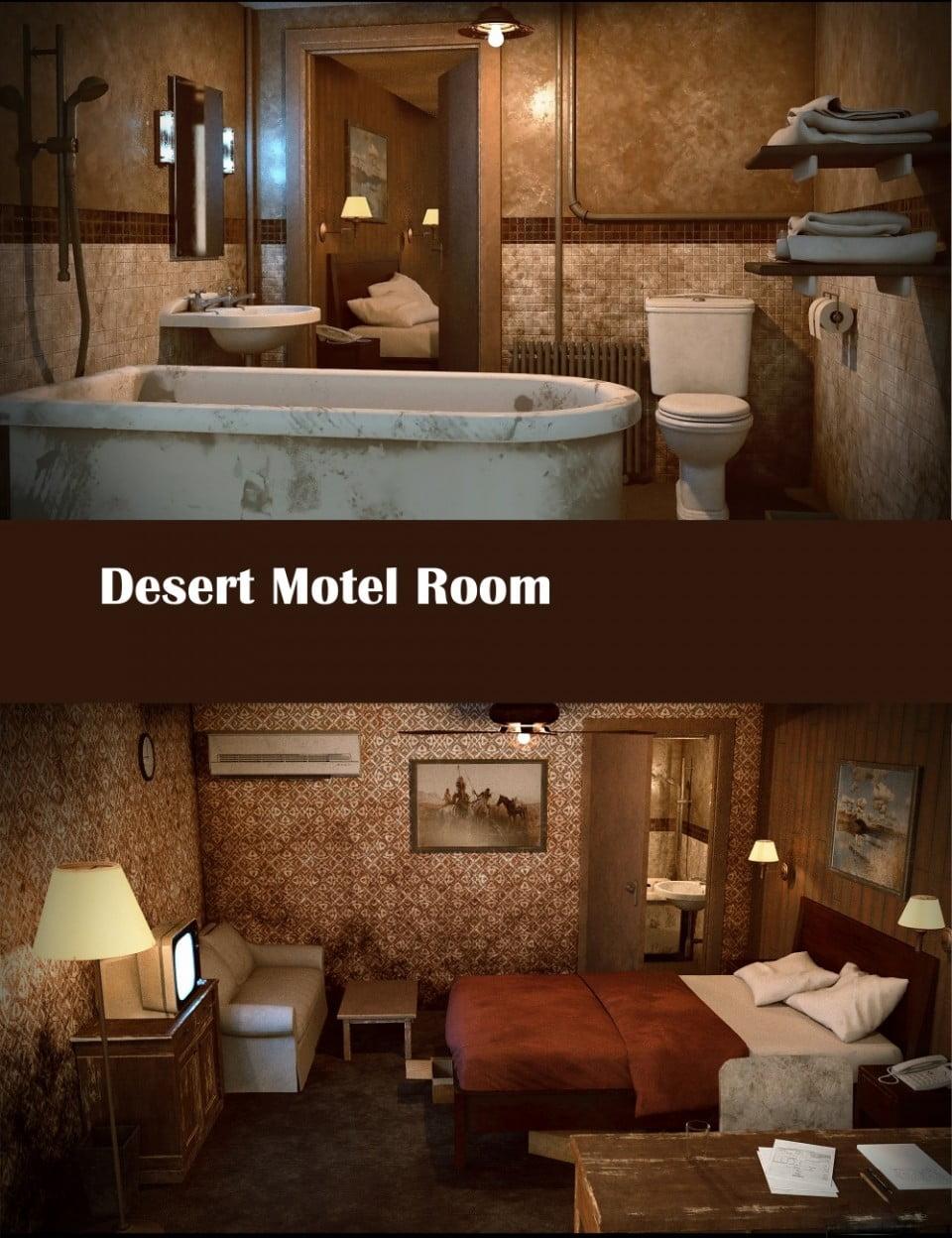 Desert Motel Room