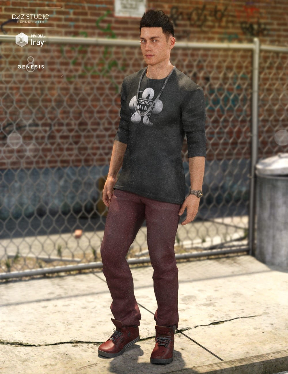 Street Style Outfit Textures 2