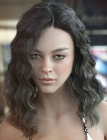 Vance Hair for Genesis 3 & 8 Female(s)