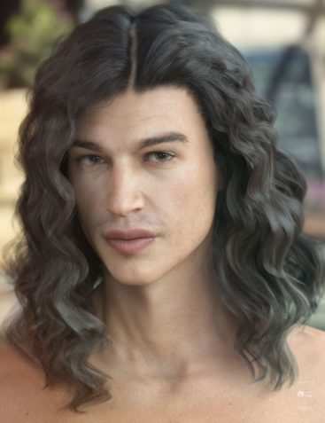 Vance Hair for Genesis 3 & 8 Male(s)
