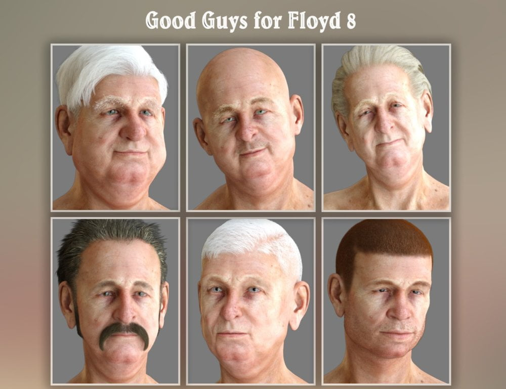 Good Guys for Genesis 8 Male