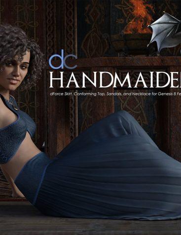 DC HandMaiden for Genesis 8 Female