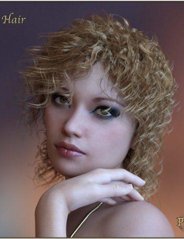 Prae Ida Hair For G3/G8 Daz