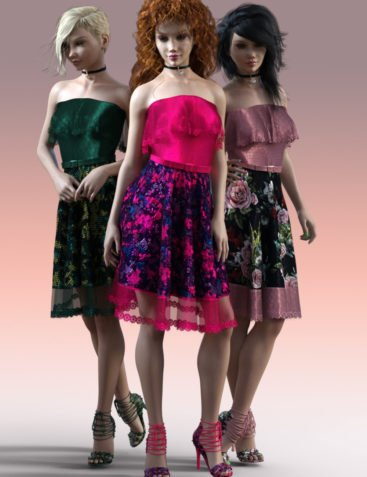 Charm Lorena Dress