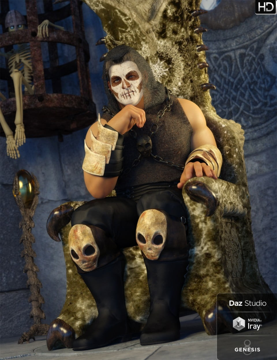 Death Shadow Outfit for Genesis 8 Male(s)