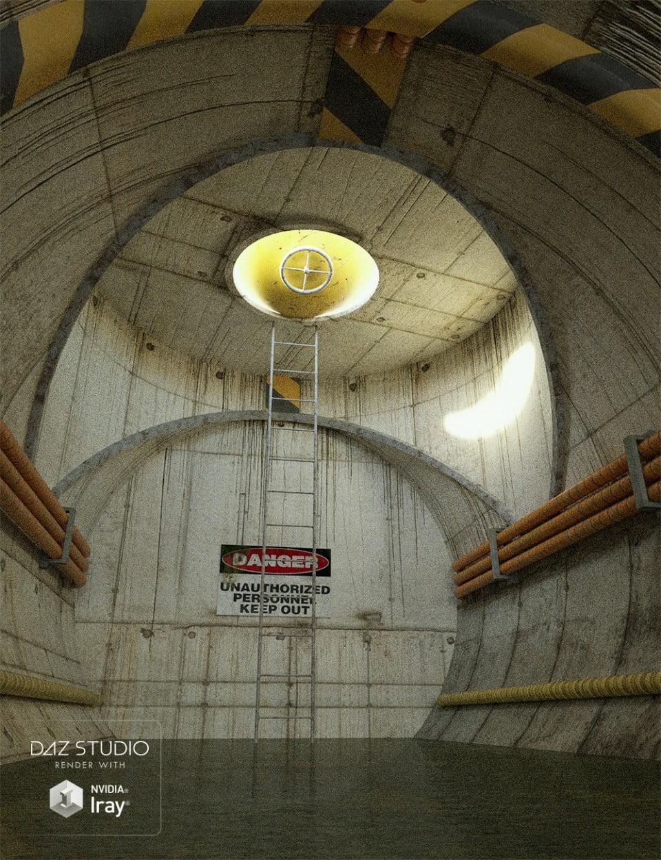 Toxic Tank Interior