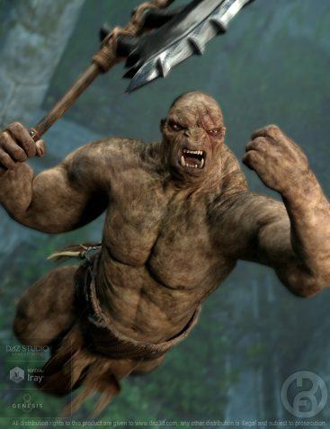 Troll Beast for Genesis 8 Male(s)