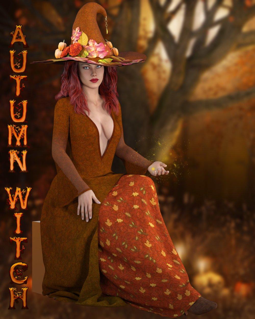 dforce - Autumn Witch Genesis 8
