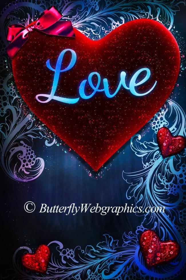 Beautiful Valentine Background Graphics