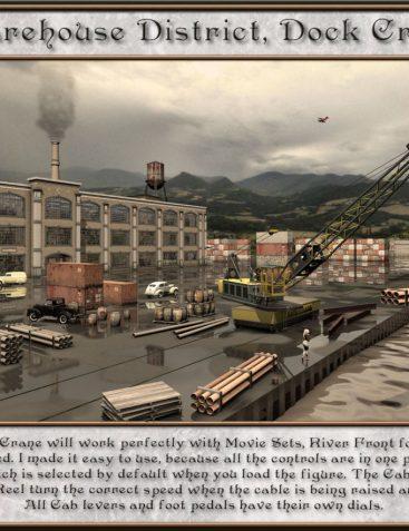 Warehouse District, Dock Crane