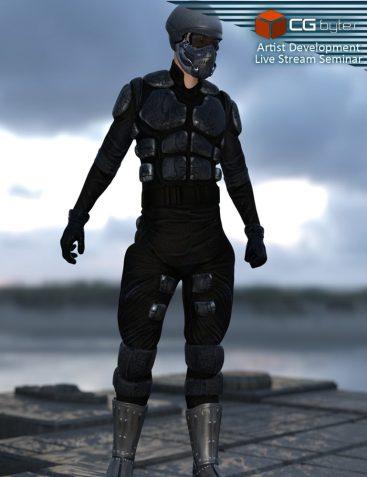 ArtDev DarkVoid Exploration Unit Suit G3M
