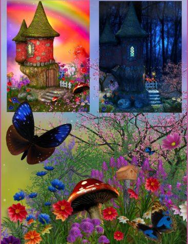 Fairy Castle Backgrounds