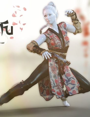 Kung Fu Outfit G8F