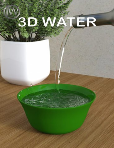 JW 3D Water Props