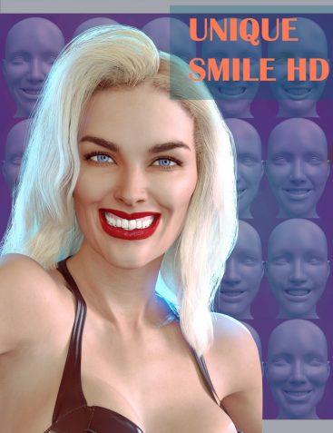 20 Unique Smiles HD for Genesis 8 Female(s)