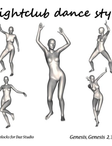 Nightclub dance style by LifeMotion