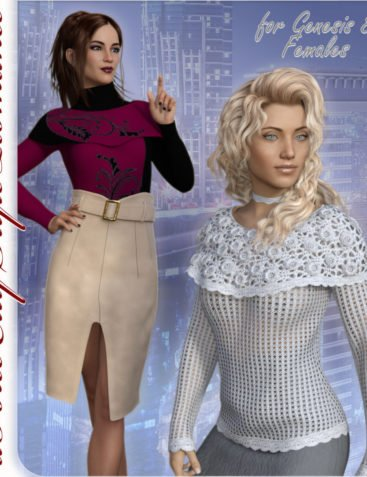 dFORCE CITY STYLE ROMANCE for Genesis 8 Female