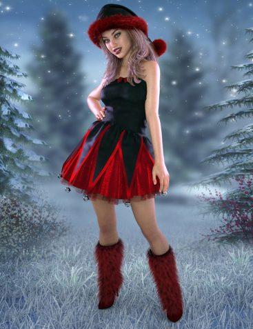 Santa's Helpers Vol 1 for Genesis 8 Female