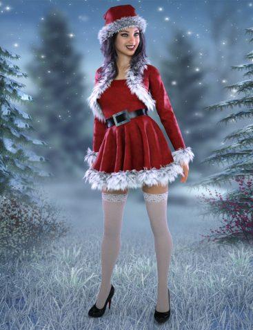 Santa's Helpers Vol 2 for Genesis 8 Females