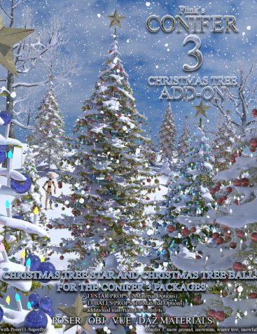 Flinks_Conifer 3 - Christmas Tree Add-On