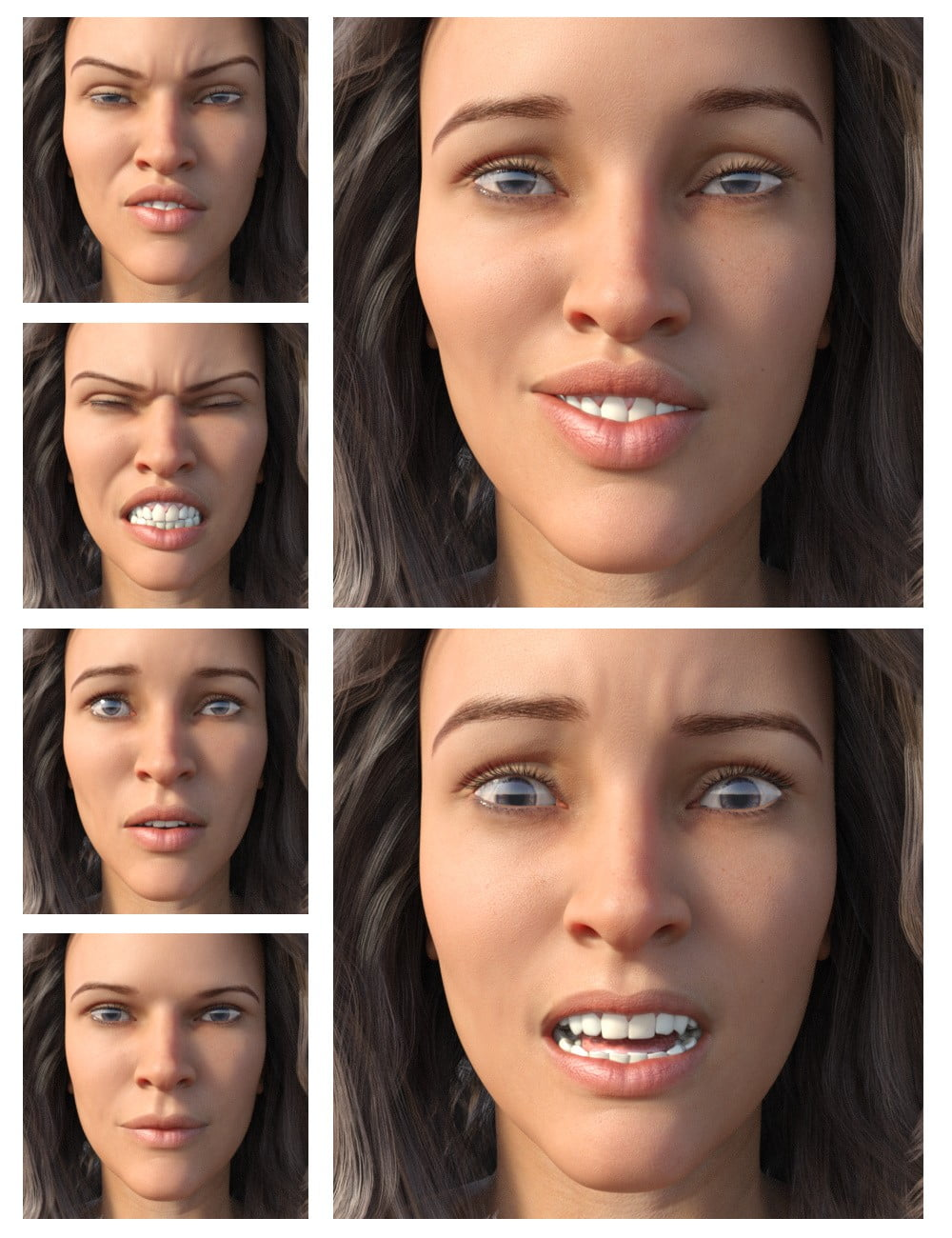 ACTION STAR Expressions for Gia 8